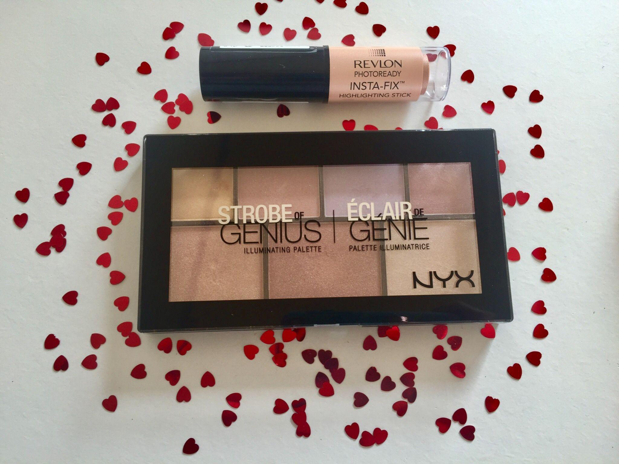 NYX Strobe of genuis Revlon highlight