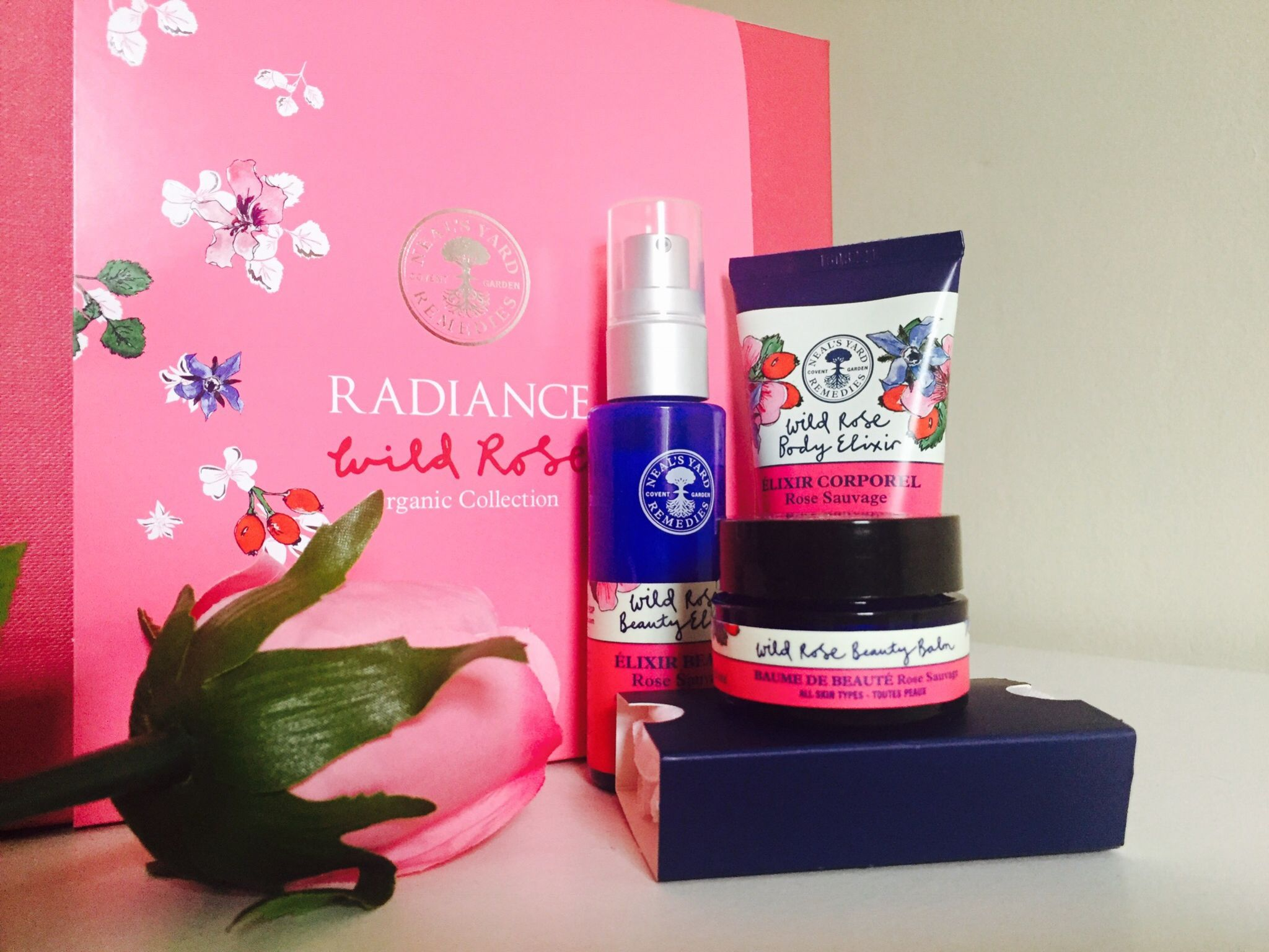 Neal's Yard Remedies Wild Rose Organic Collection