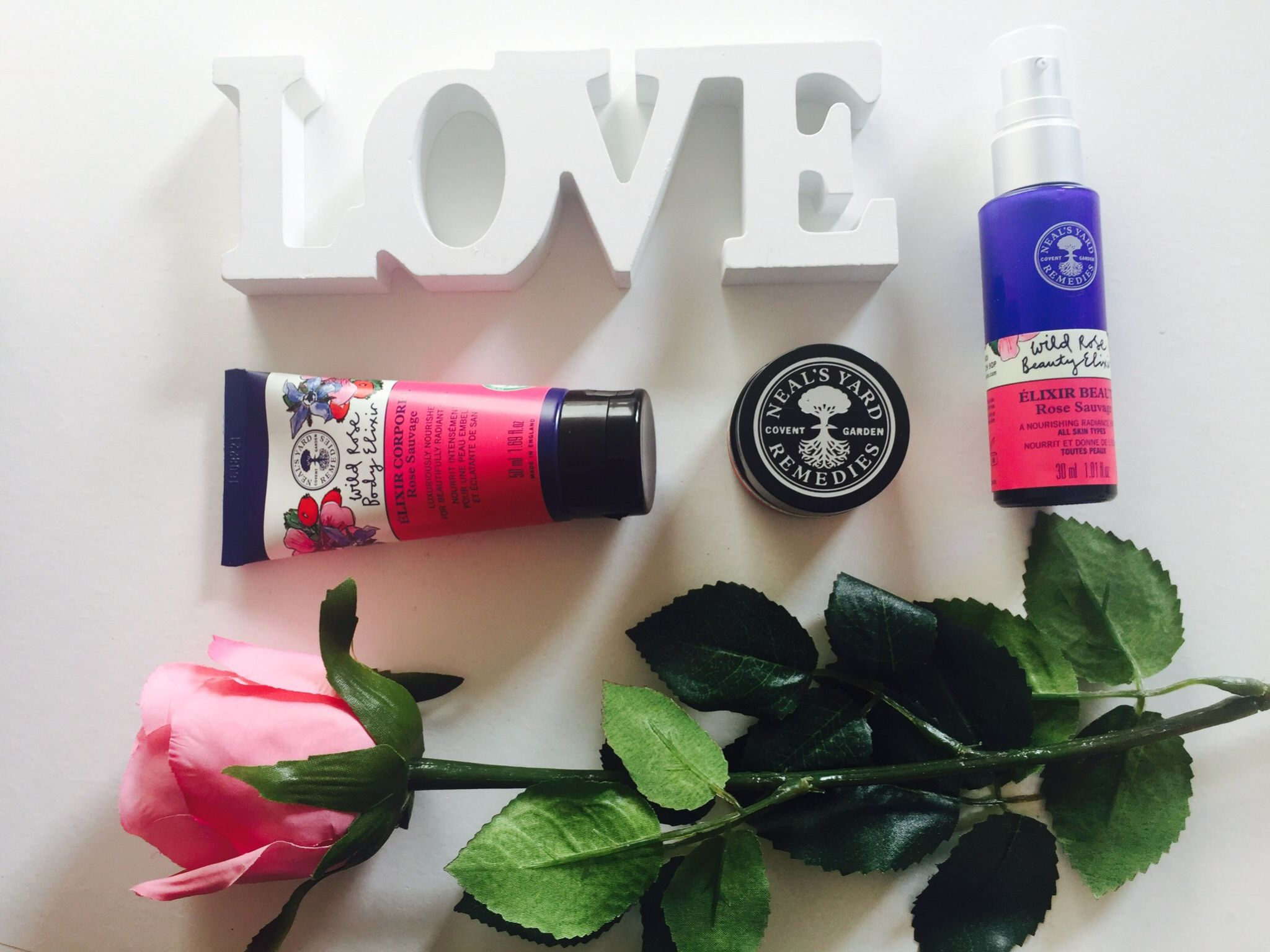 Wild Rose organic collection Neal's Yard Remedies