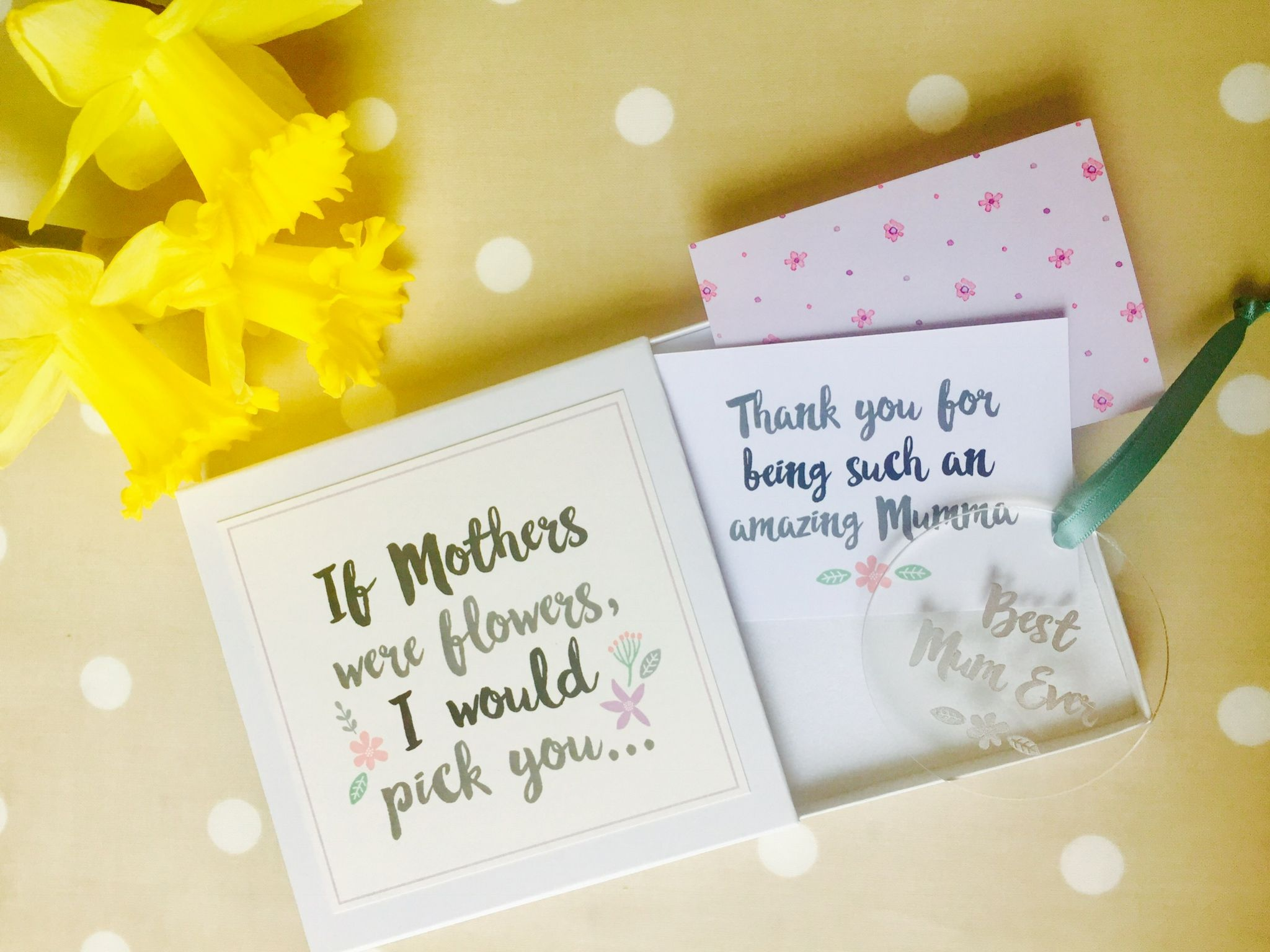 LoveGiveInk Amazing Mum keepsake gift box