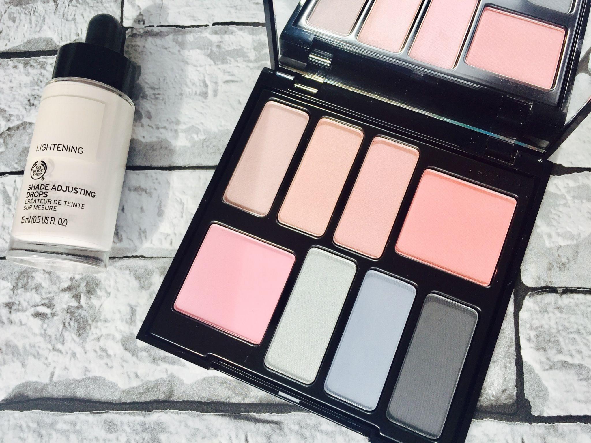 The Body Shop Shade Adjusting Drops Lightening British Rose Palette