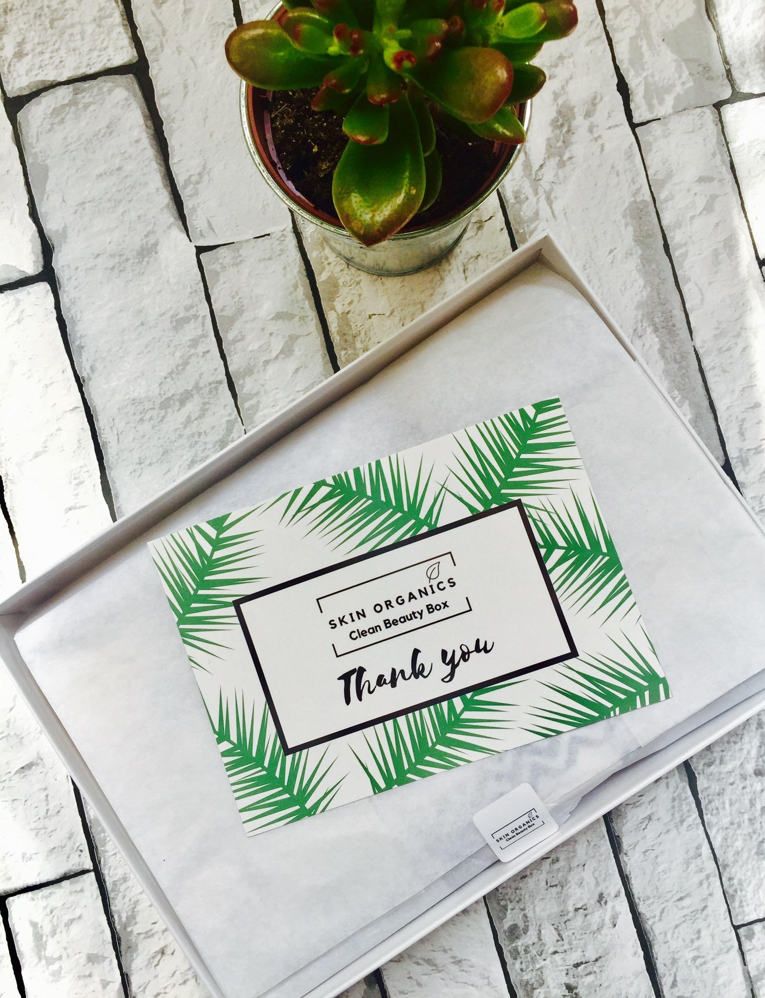 Skin Organics Clean Beauty Box