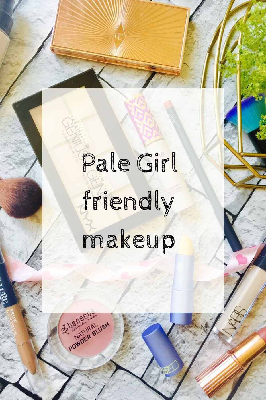 Pale Girl makeup edit