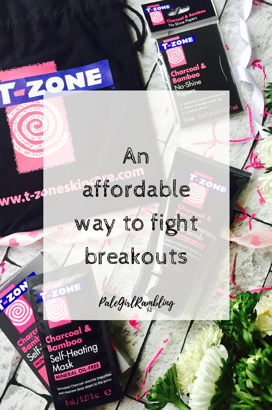 T-Zone affordable skincare for blemish prone skin