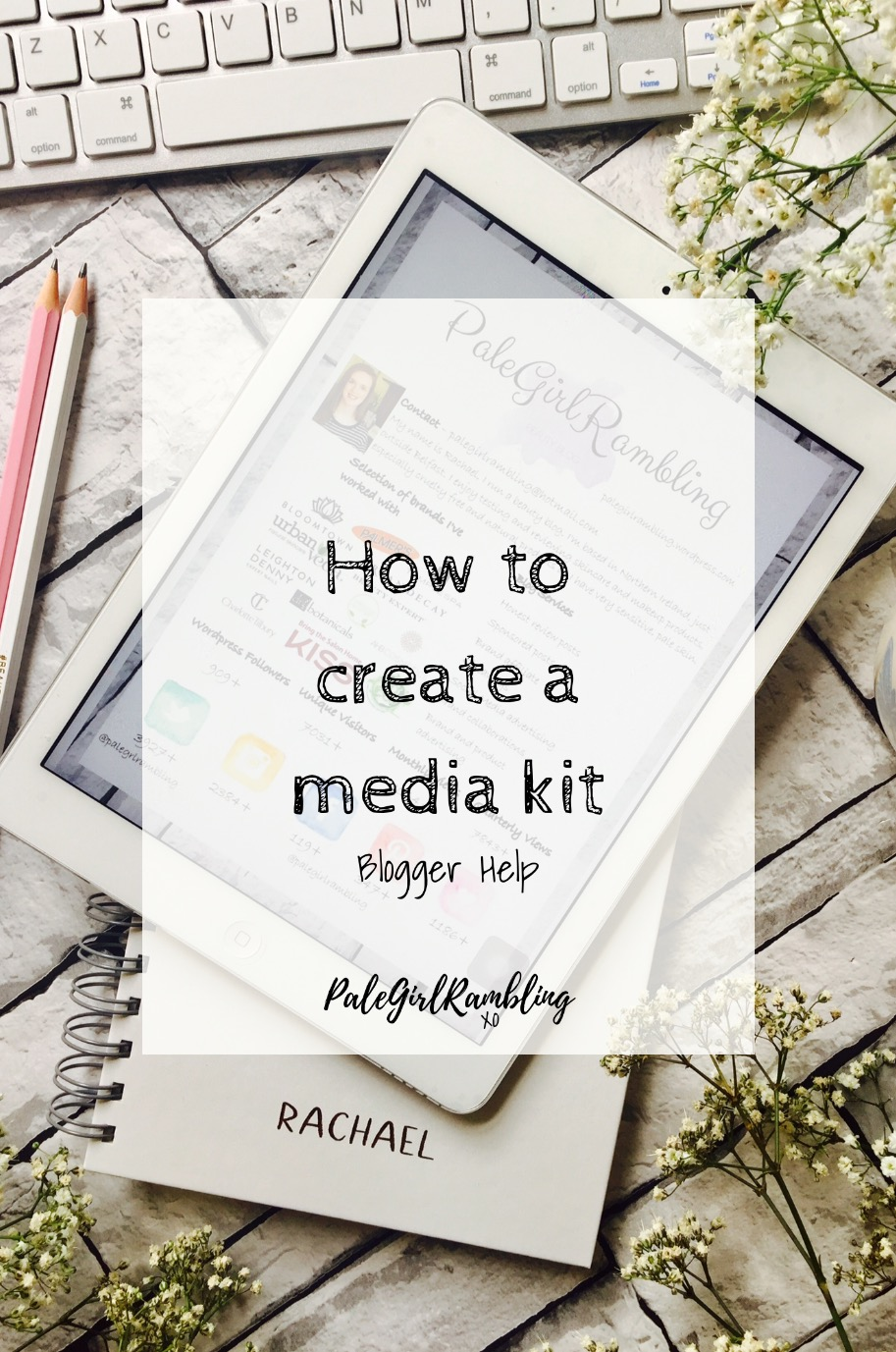 How to make a media kit approach brands Blogger Collaboration media kits
