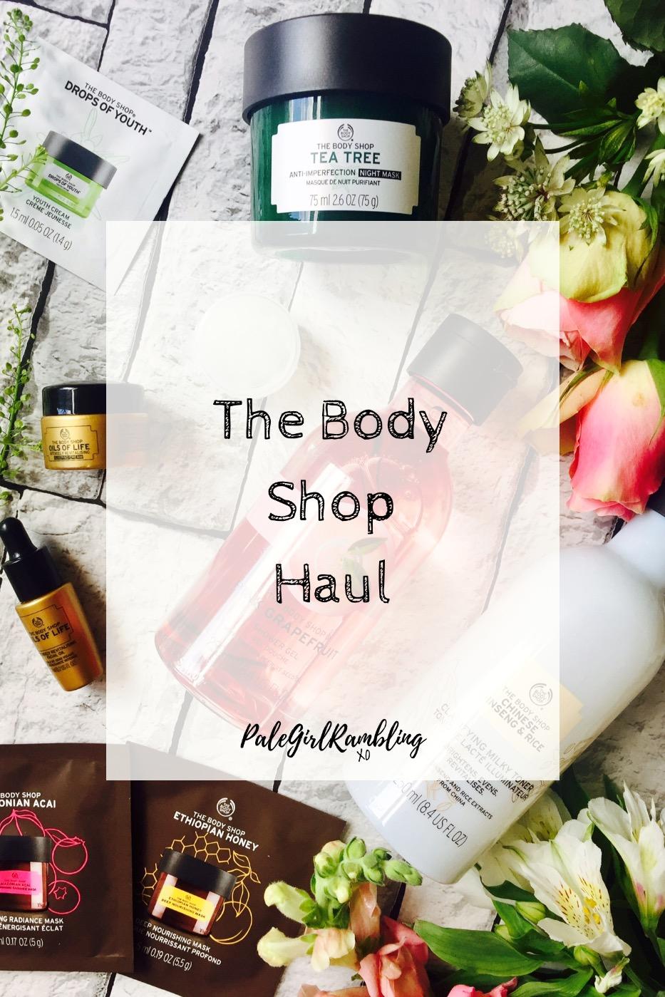 The Body Shop Haul Blogger Event