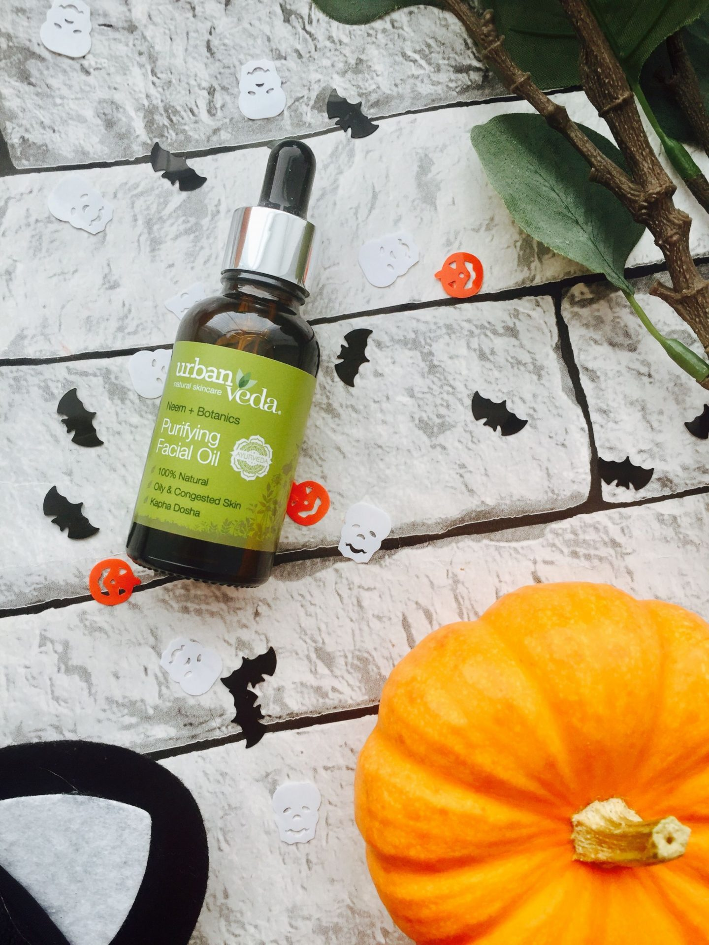 Urban Veda Facial Oil new release Pitta kapha dosha sensitive skin oily breakout skincare