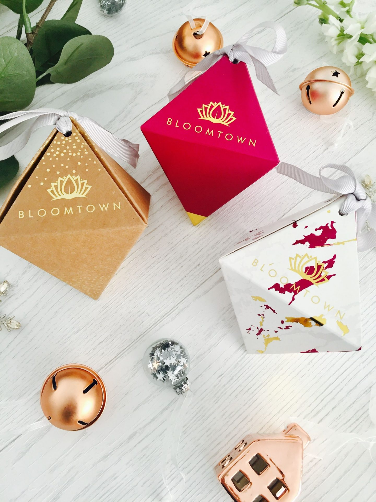 Bloomtown Beauty Baubles Limited Edition Christmas Cruelty Free Palm Oil free