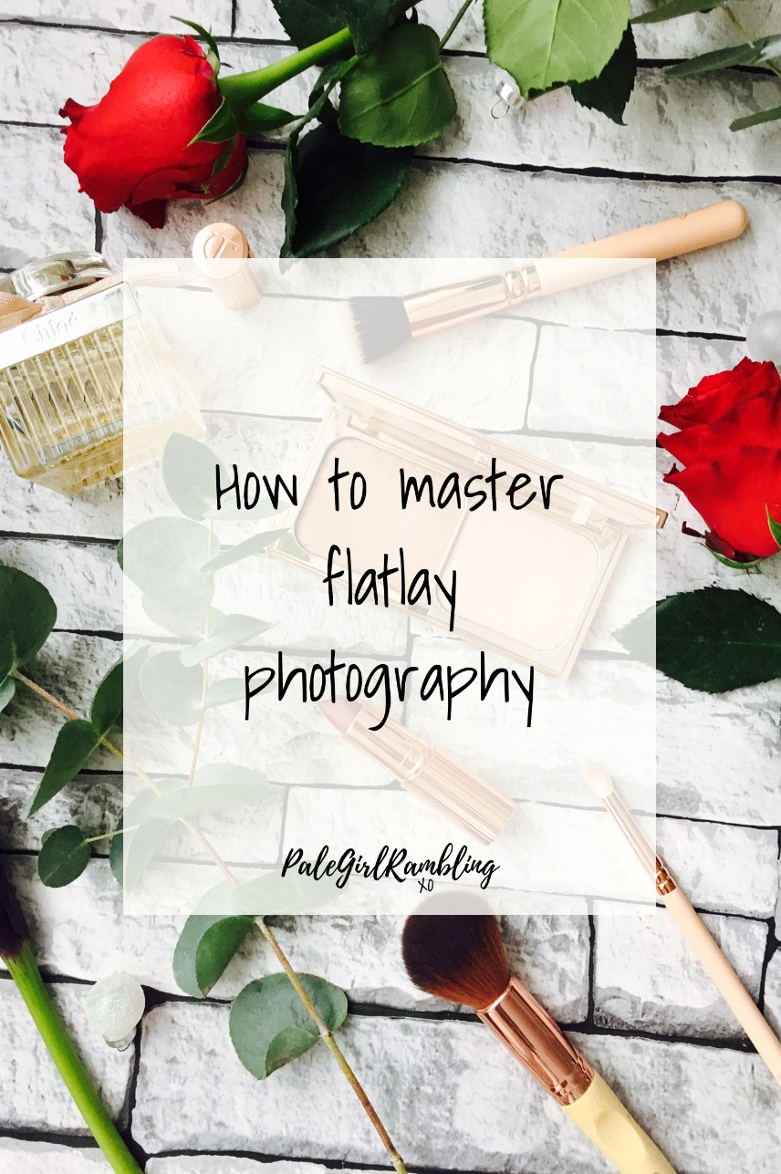 Flatlay photography tips & tricks blogger help