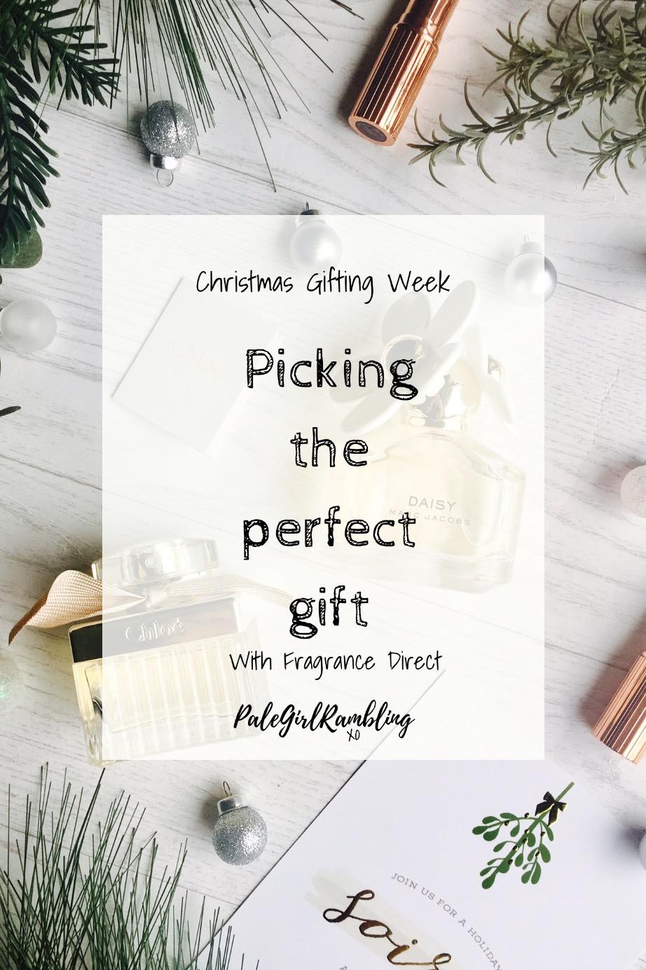 Christmas Gifting Week Fragrance Direct Marc Jacobs Chloe Daisy present ideas