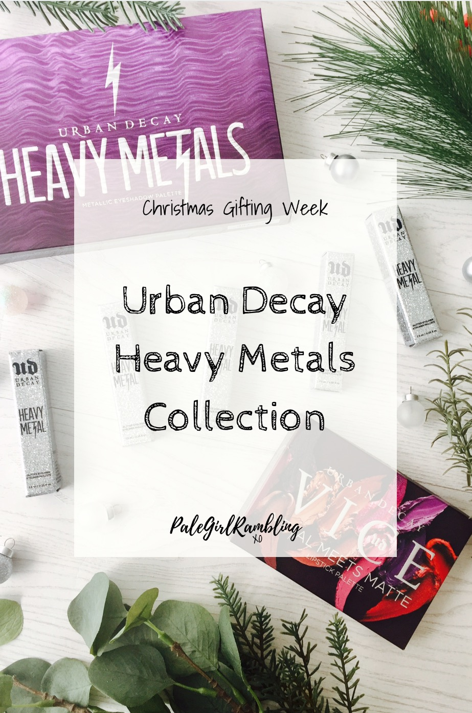Urban Decay Heavy Metals Collection Vice Lip Palette Glitter Eyeliners New Release swatches
