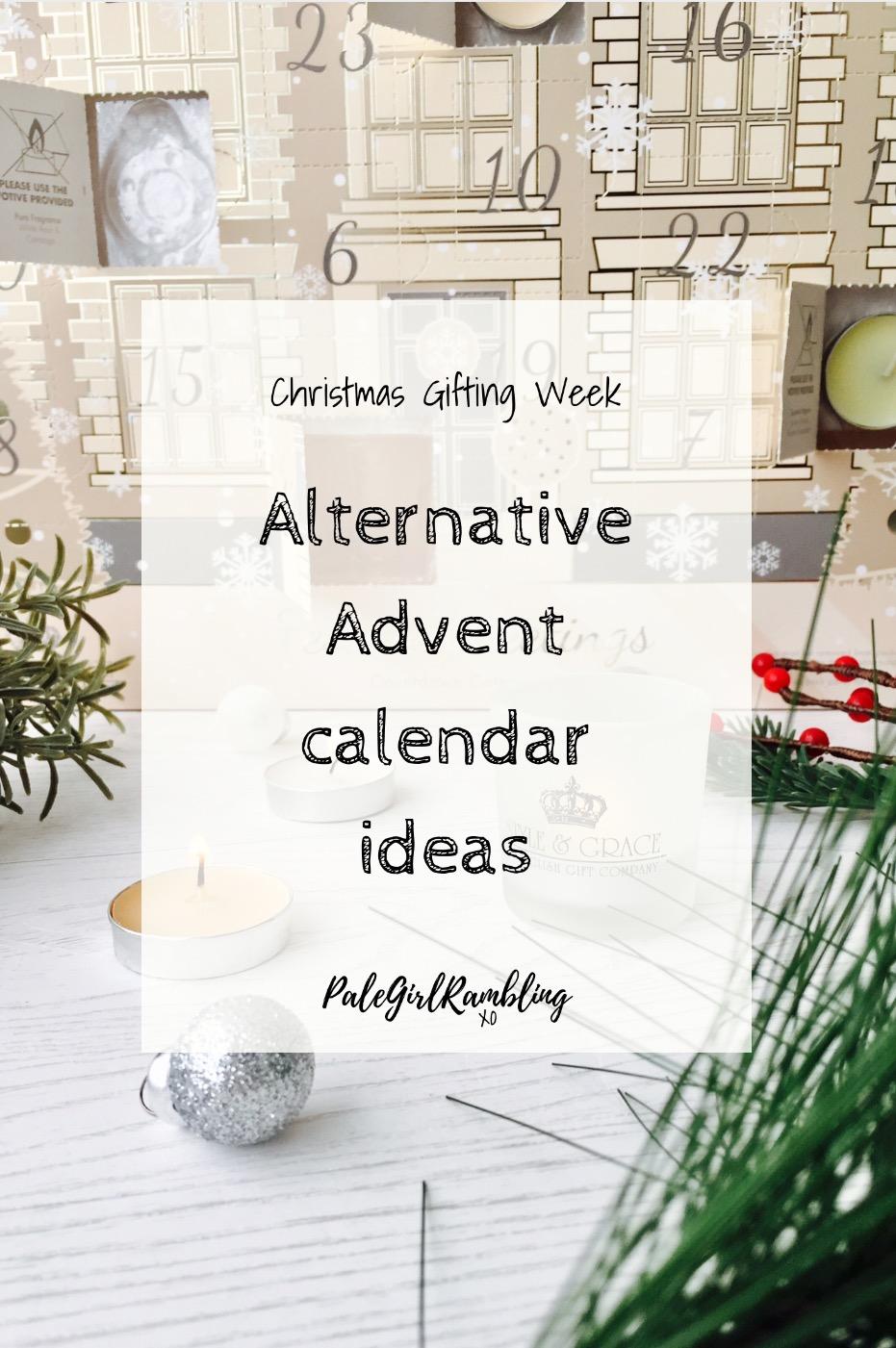Advent Calendar Gift Ideas Uk : Advent calendar gift ideas palegirlrambling