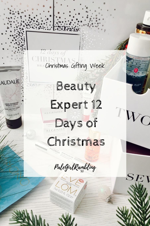 Beauty Expert 12 days of Christmas advent calendar