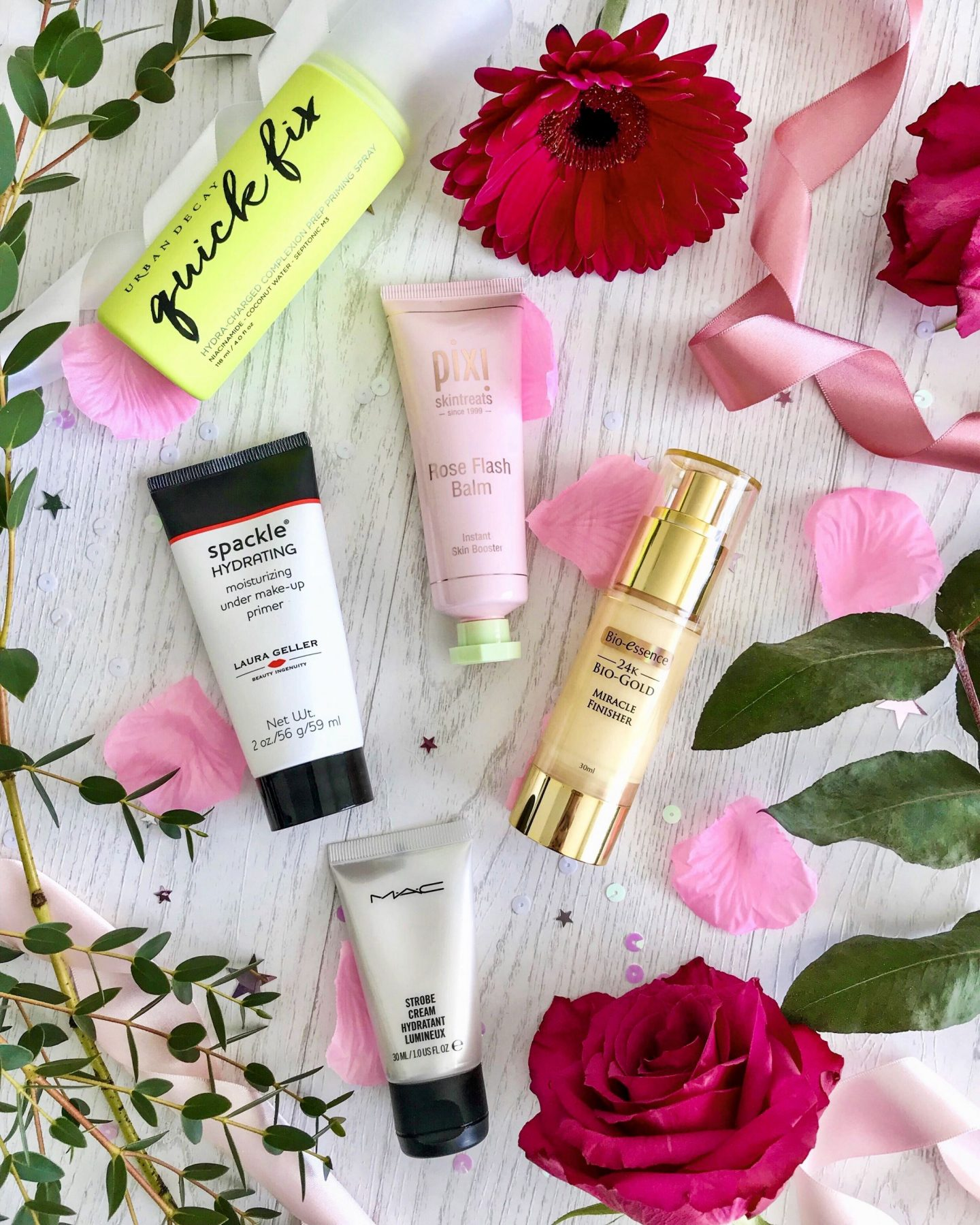 Favourite primers for dry skin