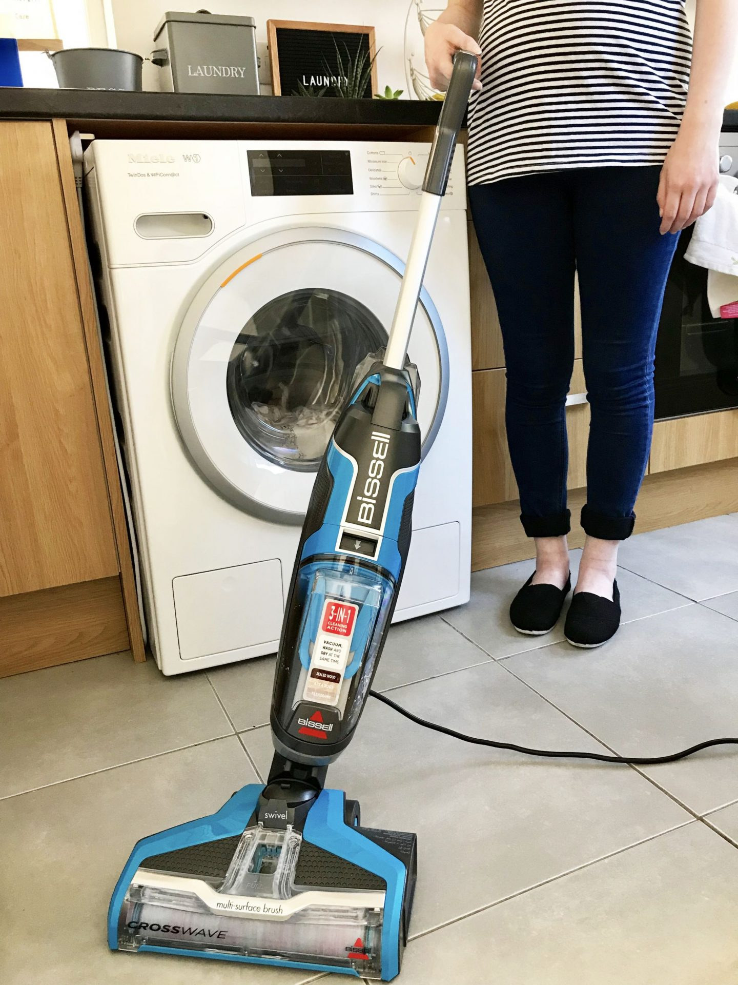 Nesting - Getting Your House Ready For a Baby AO Miele Washing Machine Bissell Floor Cleaner Dyson Vacuum