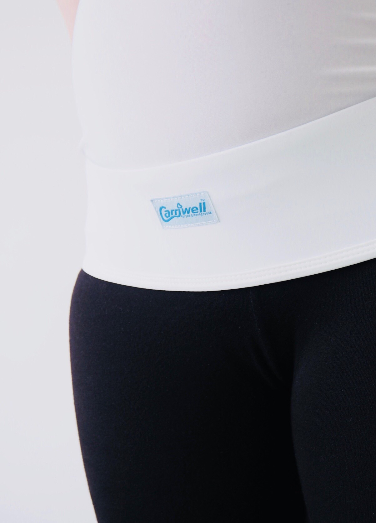 Pregnancy back pain Carriwell overbelly support belt