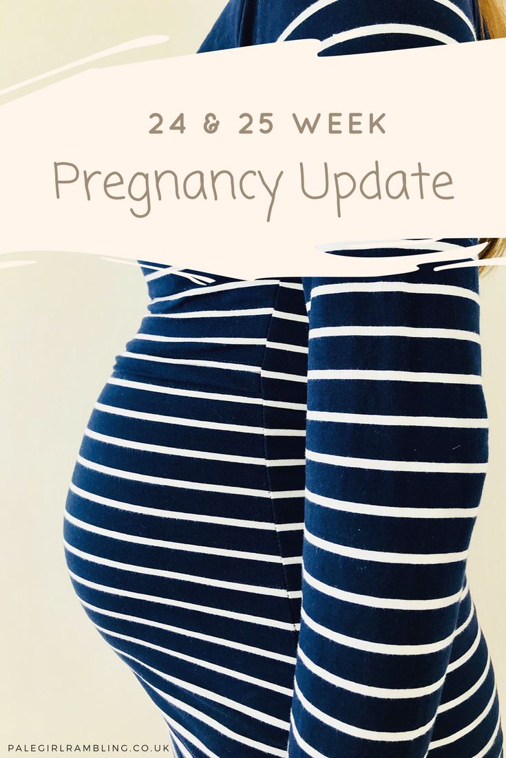 24 and 25 Week Pregnancy Update and bumpie baby bump second trimester