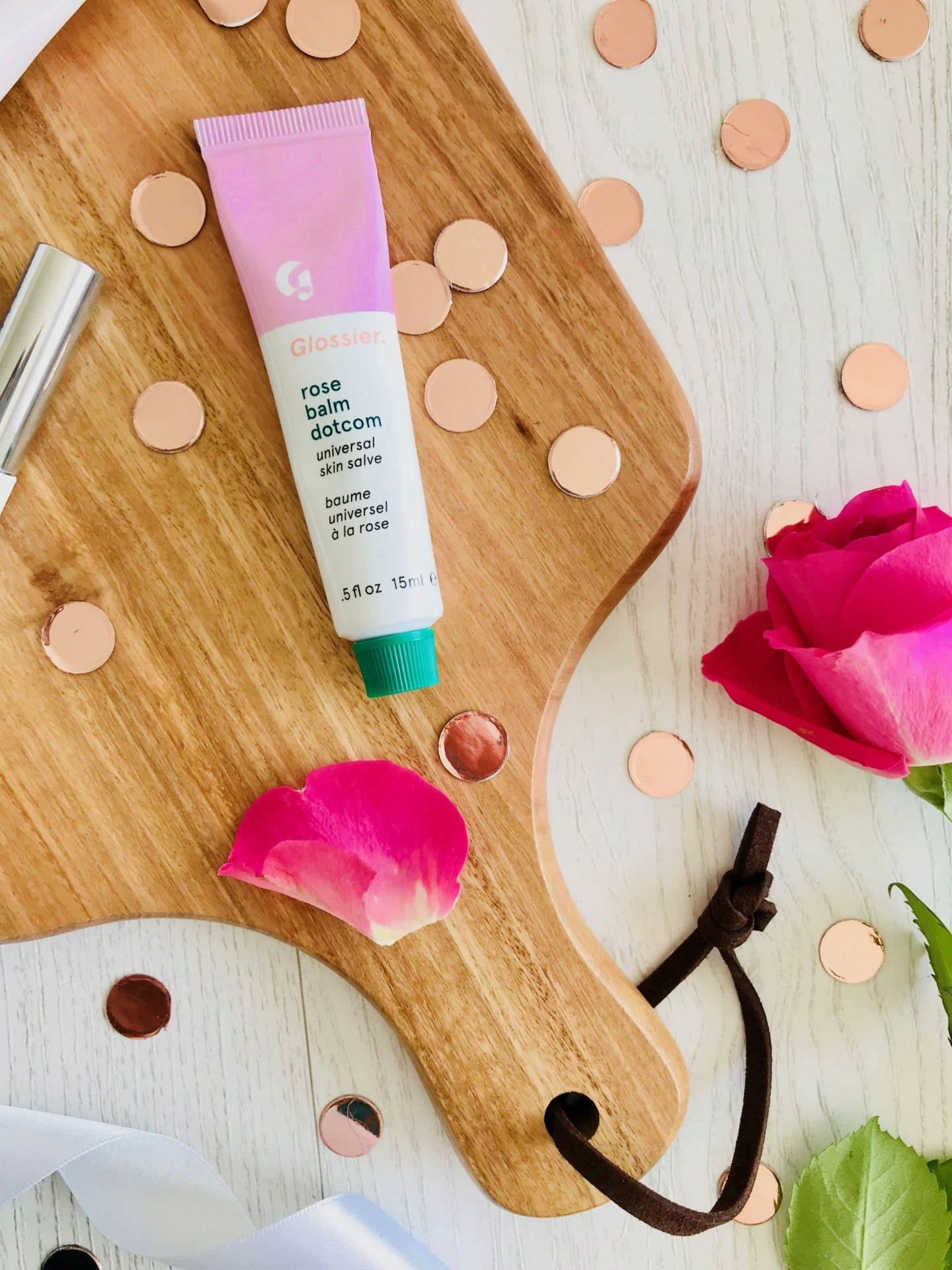 Glossier skincare makeup first impressions boy brow balm dot com rose priming moisturizer discount