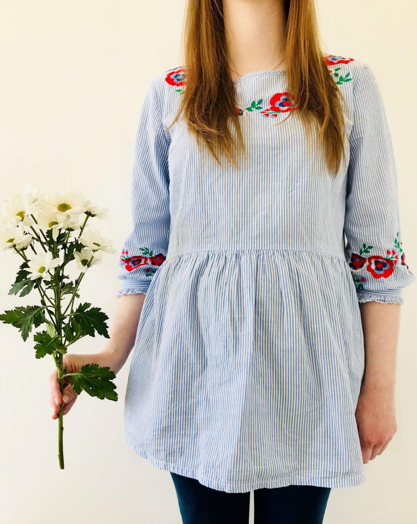 Spring summer maternity haul JoJo Maman Bébé Tiffany rose new look Topshop