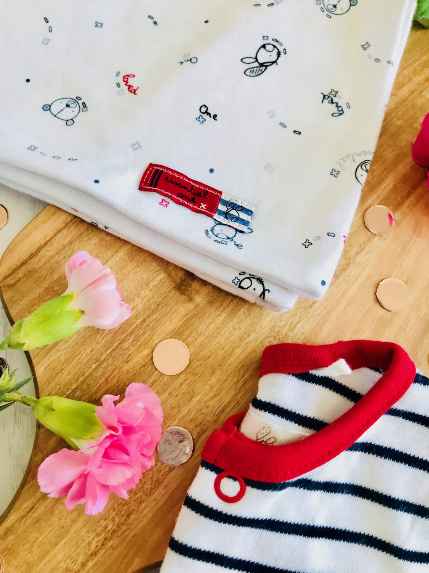 The Essential One Review Giveaway Babygrow Baby clothes blanket nursery interiors