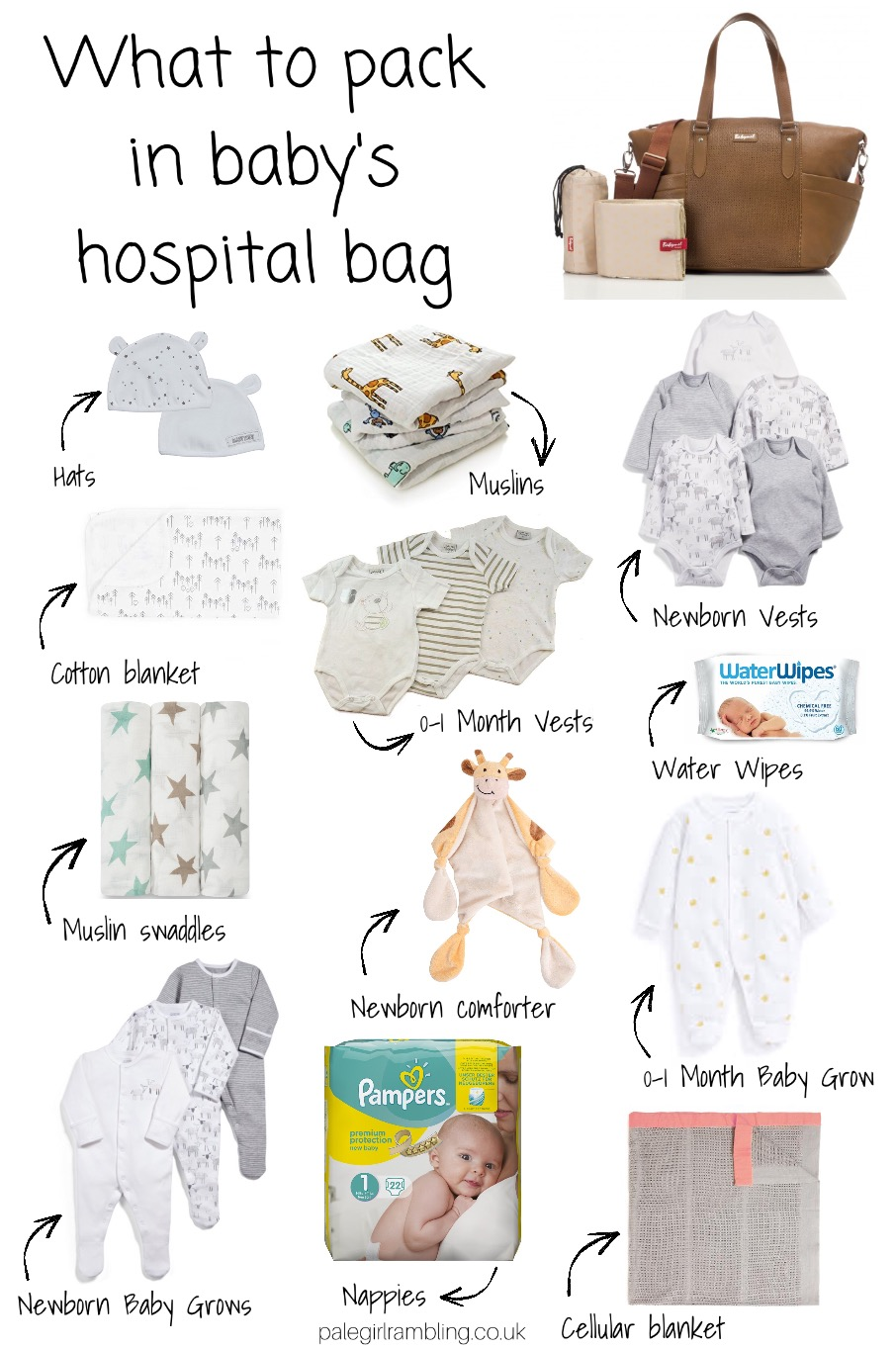 What's in baby's hospital bag what to pack