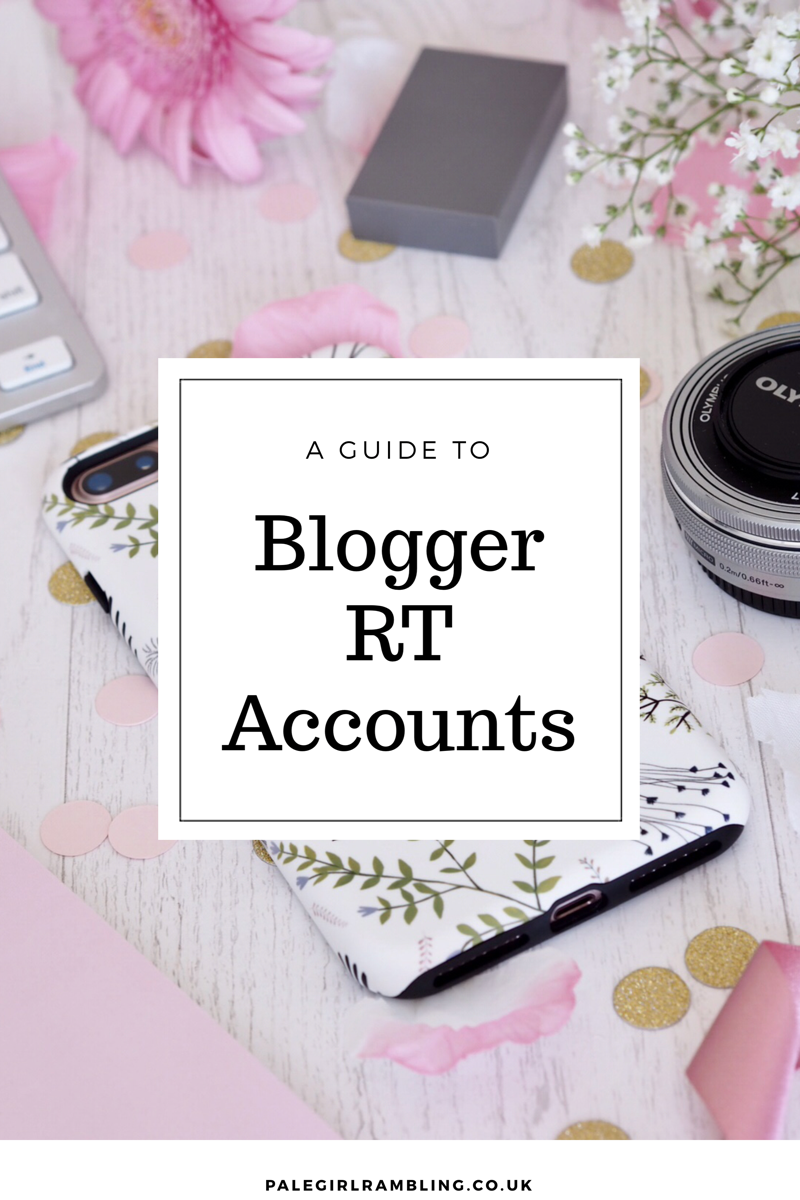 A guide to Blogger RT Accounts