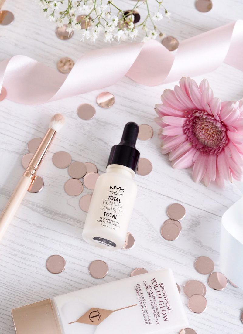 NYX Total Control Drop Foundation Review + Swatches