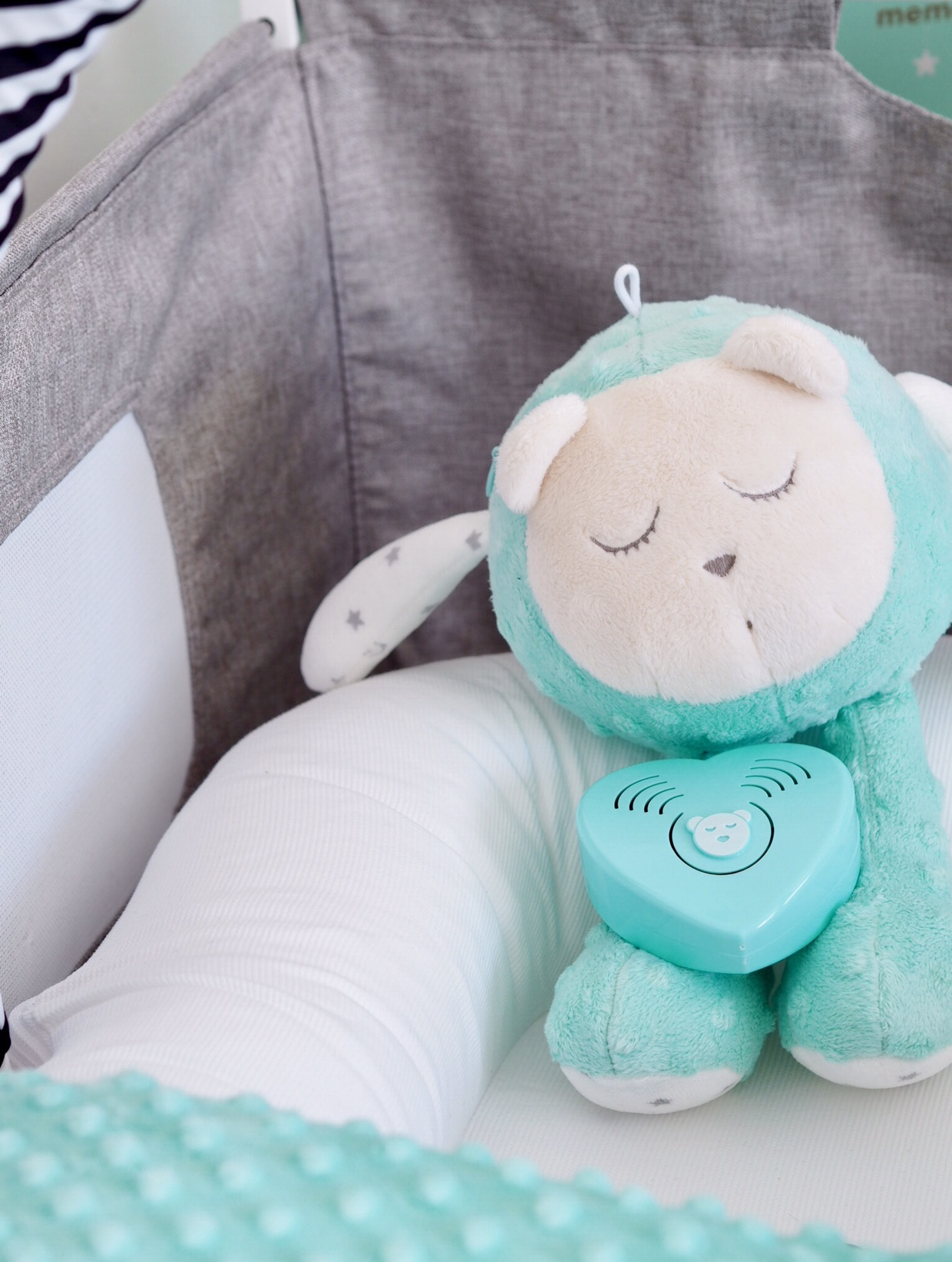 My Hummy Snoozy White Noise Toy Baby Sleep