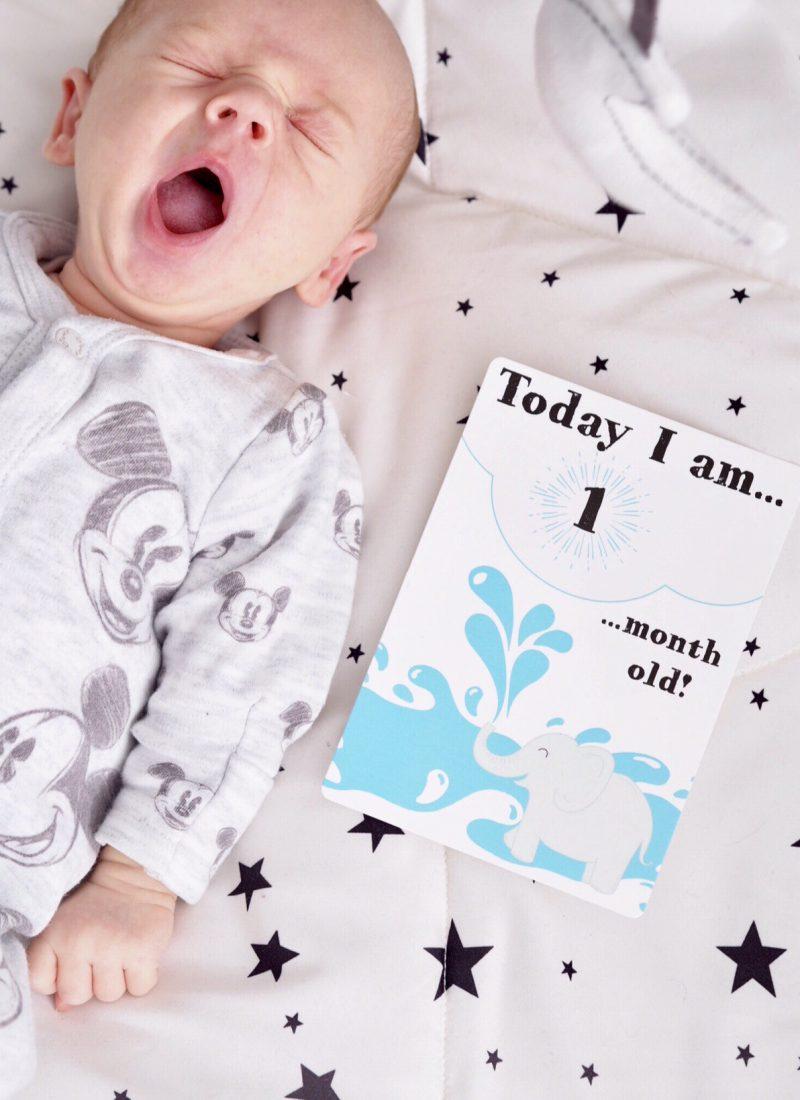Theodore – 1 Month Baby Update