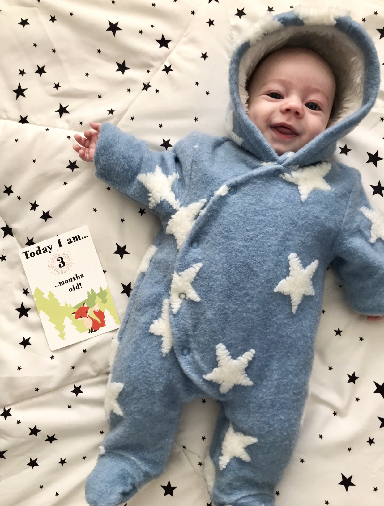 Theodore James - 3 Month Baby Update