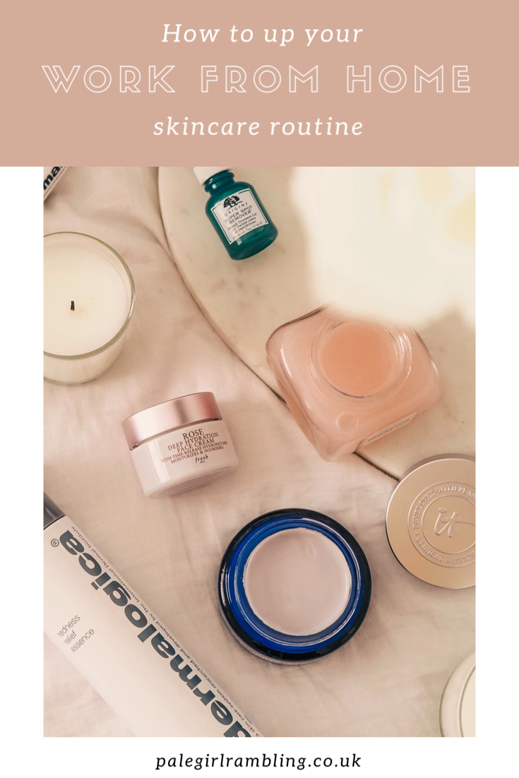 Work From Home Skincare Routine