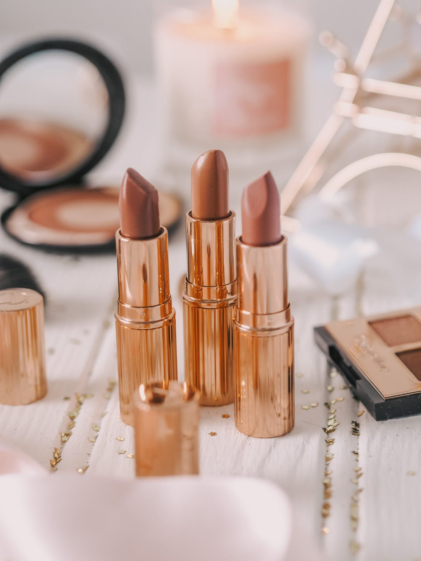 Favourite Everyday Lipsticks for Pale Skin Charlotte Tilbury Very Victoria Pillow Talk Bitch Perfect