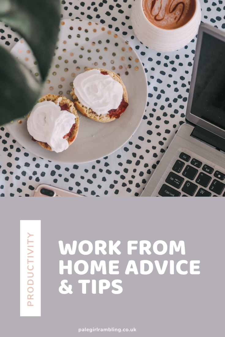 5 Working From Home Tips Productively