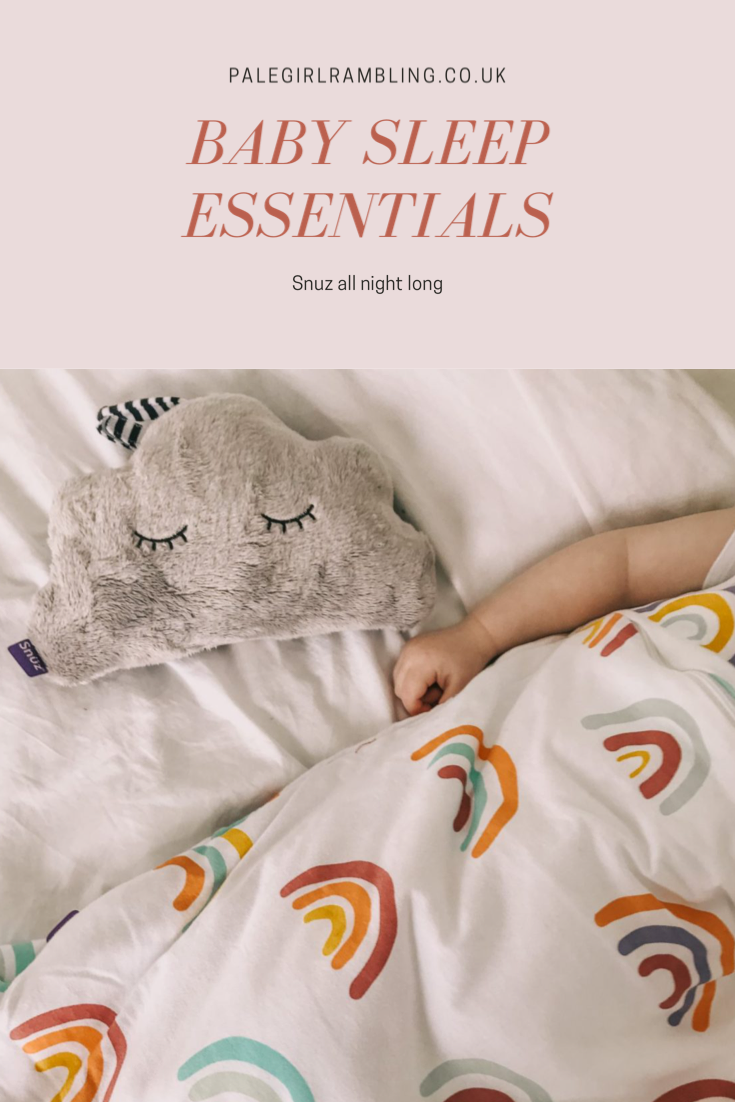 Baby sleep tips Snuz pouch cloud