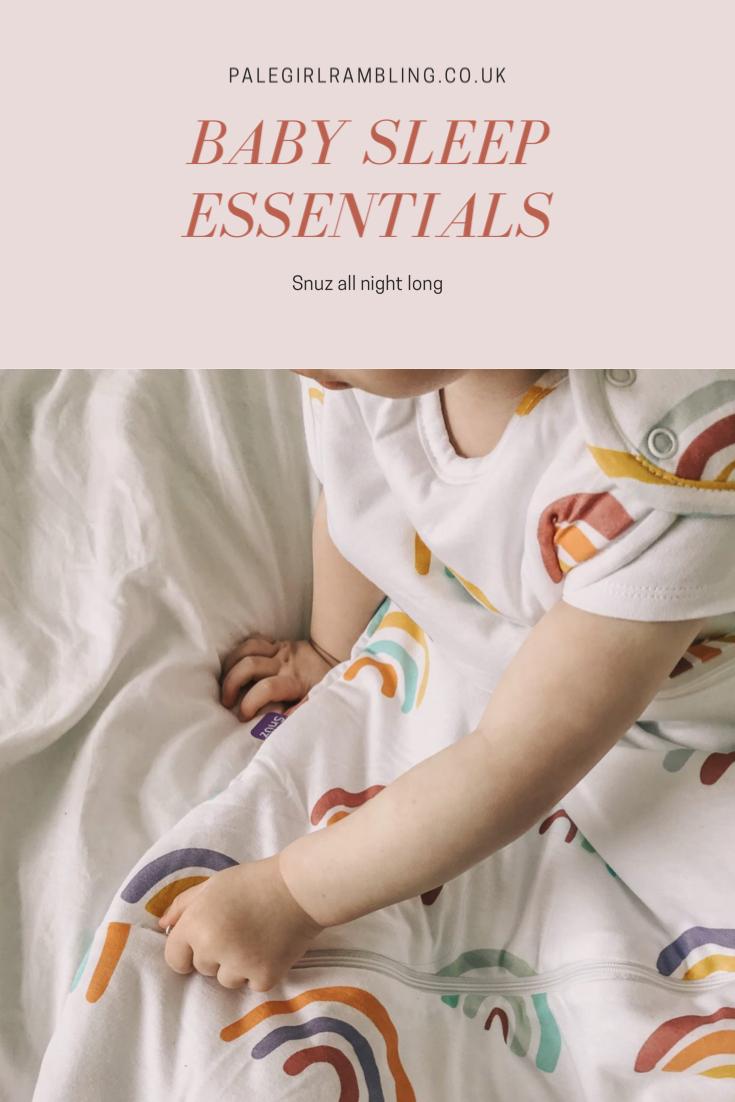 Baby sleep tips Snuz pouch cloud