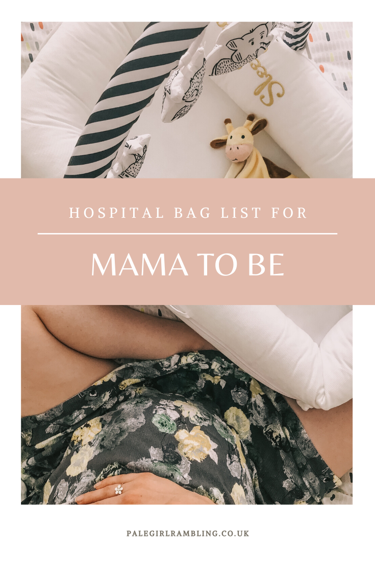 Hospital Bag for Mama To Be