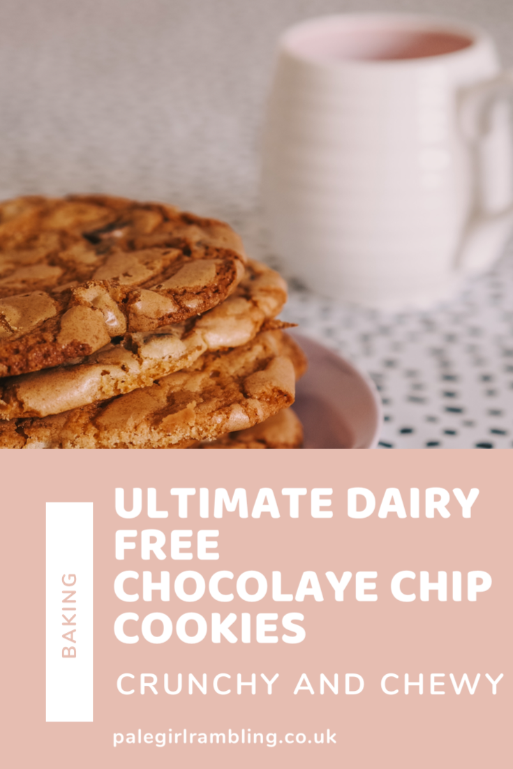 Ultimate Dairy Free Chocolate Chip Cookies