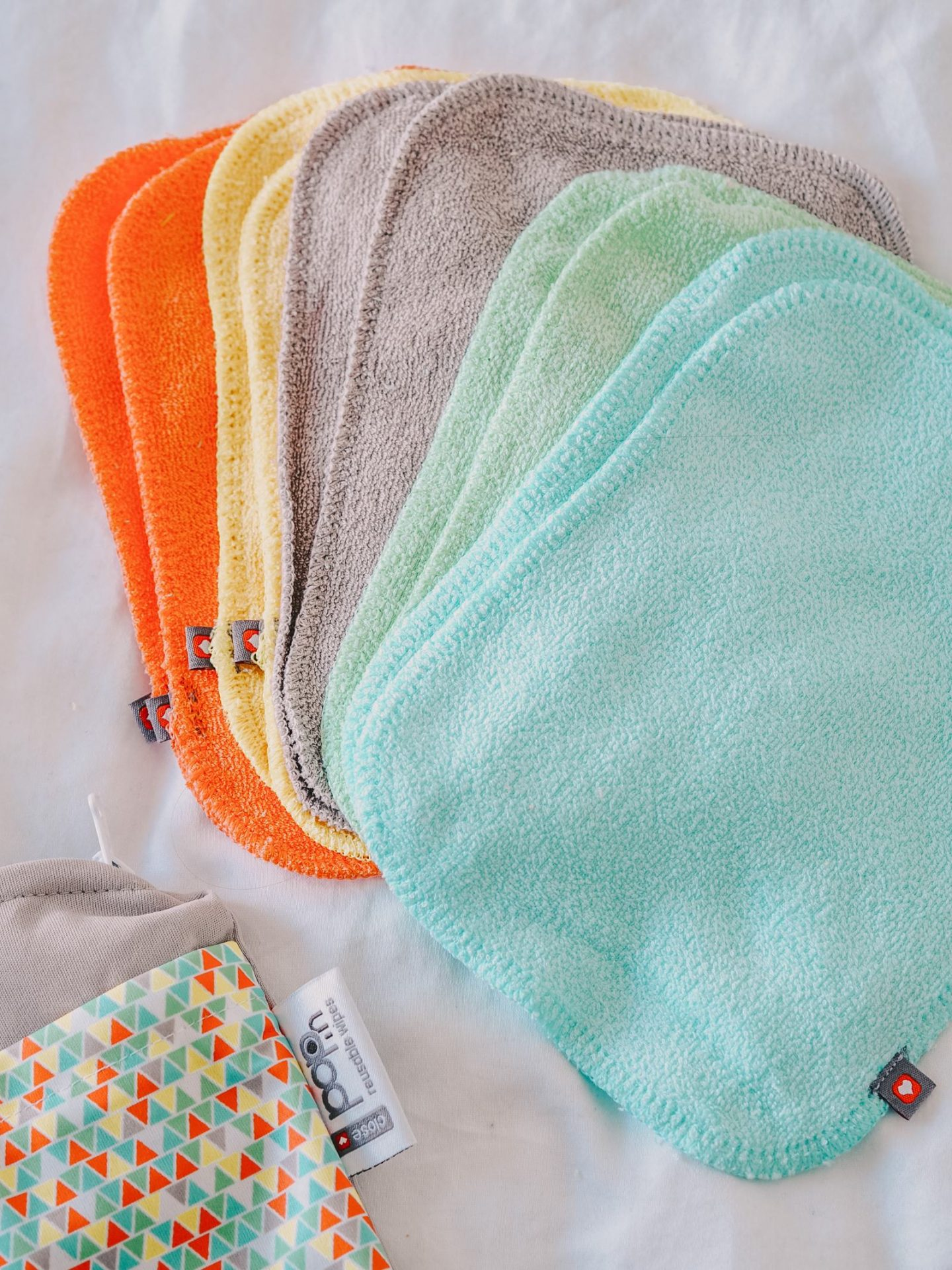 Close Parent Pop-In Cloth Nappy Review Puffin Bio-Laminate reusable wipes