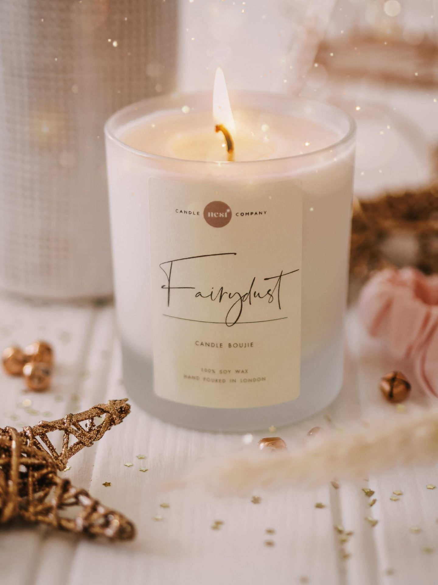 Shop Small Christmas Nest Candle Co Flatlay